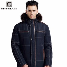14M133 Top Selling Fashion Man Loose Racoon Fur Coat New Model Casual Thick Thinsulate Winter Coat With Removable Hood