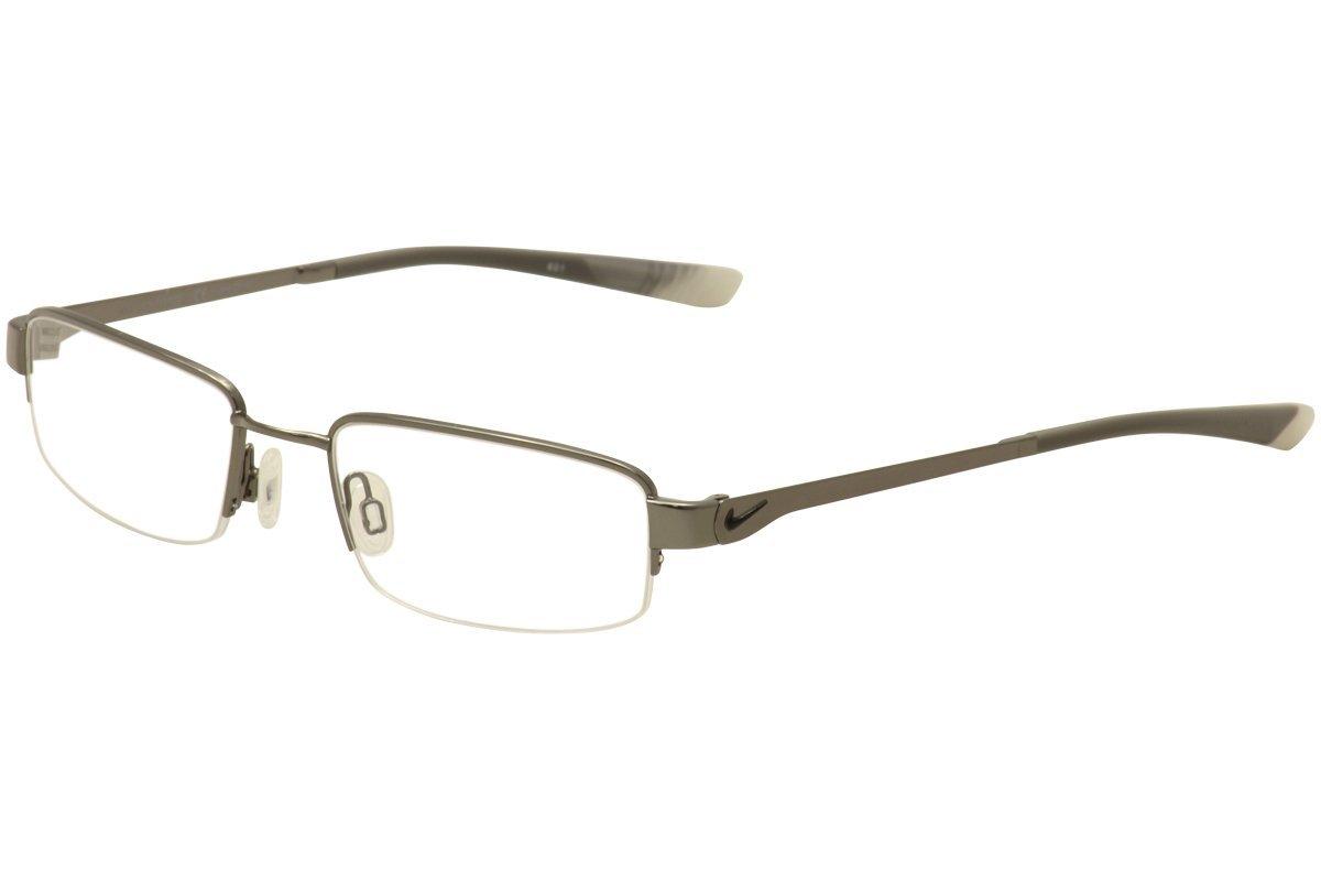 Get Quotations · Nike NIKE 4271 Eyeglasses 034 Gunmetal-Wolf Grey