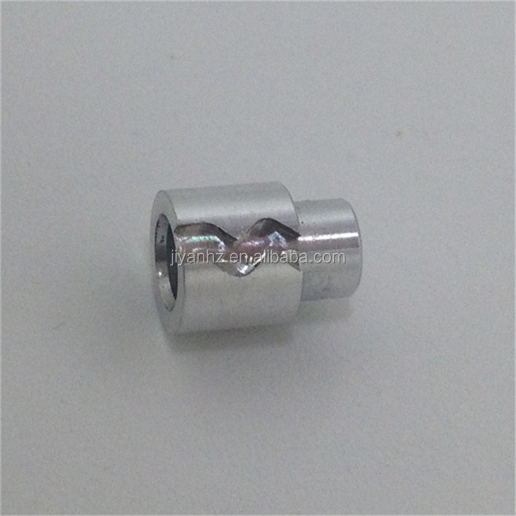 New design aluminum 6061 natural finish small parts electric home appliance parts