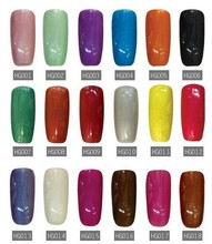 9pcs Hot sales Free shipping soak off led uv nail gel polish 5ml