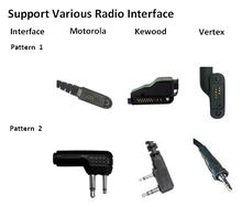 Bluetooth Dongle Adapter Audio untuk Walkie Talkie Portable <span class=keywords><strong>Radio</strong></span>