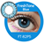 freshtone latest crazy vanilla cosmetic color contact lenses from korea