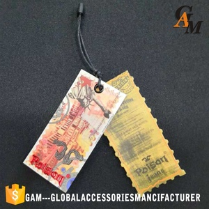 Latest style hang tag garment customized cheap hand tag for wholesale