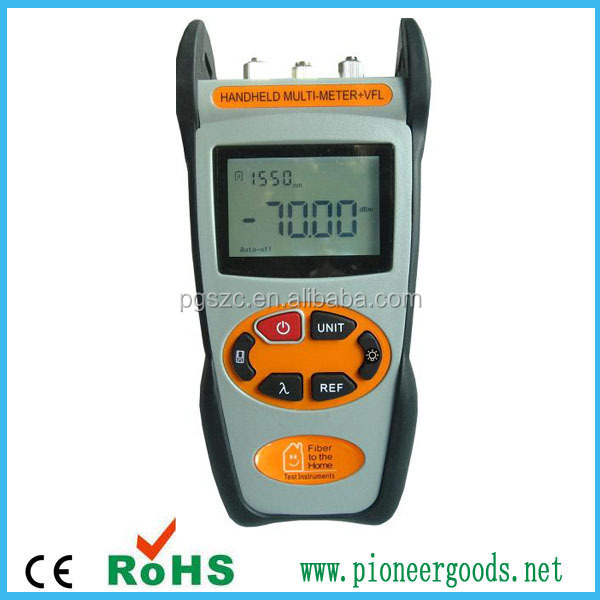 pioneer goods fiber optic multimeter PGOMM210