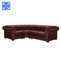 Antique chesterfield corner sofa lounge sofa living room furniture