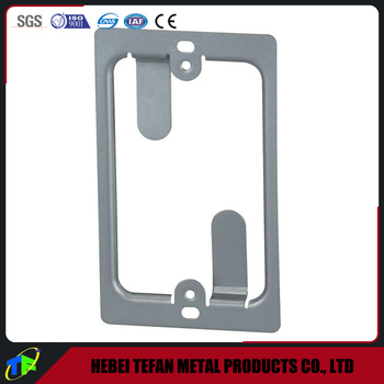 1 Gang Low Voltage Wall Mounting Bracket