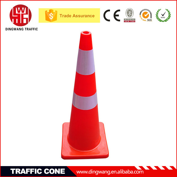 Widely used 900MM High Soft Red Road Work Cones