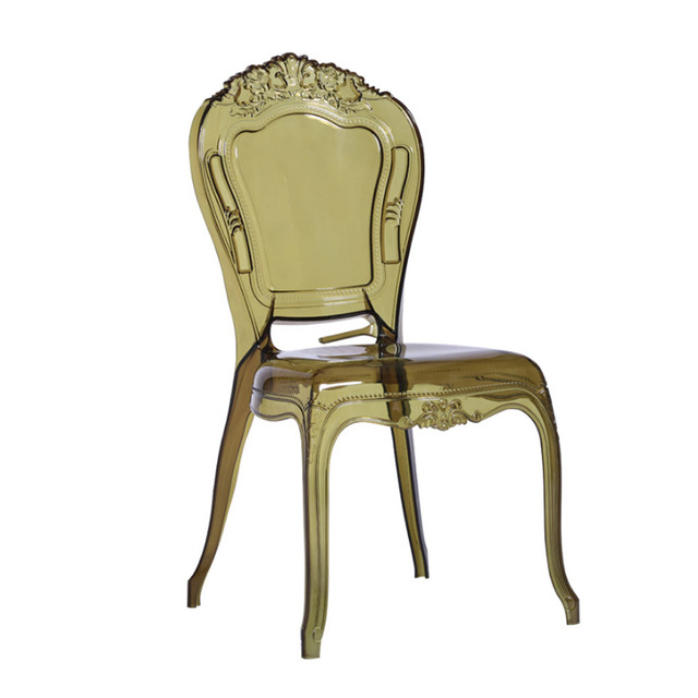 Wholesale Cheap Price Outdoor PC Plastic Chair Plastic High Back Plastic Throne Chair