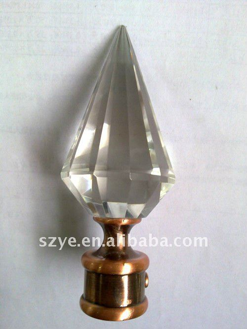 Glass Curtain Rod Finials, Glass Curtain Rod Finials Suppliers and ...