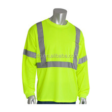 Reflective Safety Long Sleeve T-shirt