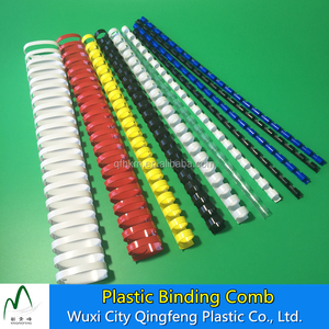 Plastic Binding Comb 19 Rings Pack Of 100 Binding Spiral