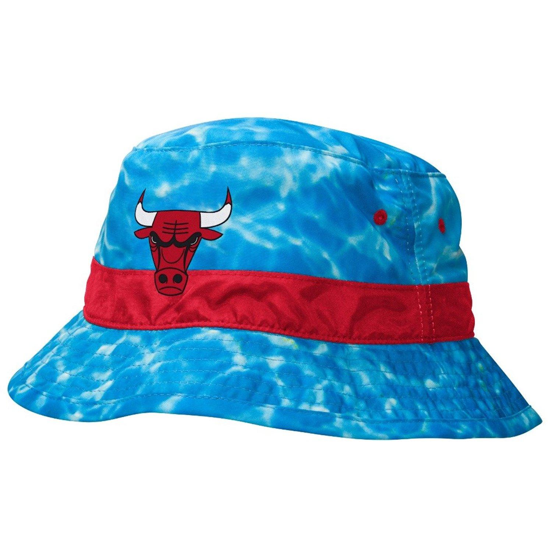 Mitchell Ness NBA Chicago Bulls Jordan Sports Surf Camo Ocean Summer Bucket  Hat 349e5f4cd3d3