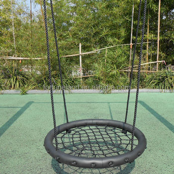 Outdoor Round Swing Chair For Child Swing Set Buy Swing Set