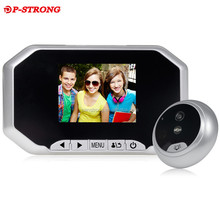 Plastic+Zinc Alloy Material and Door Viewers Type Wireless Camera Peephole