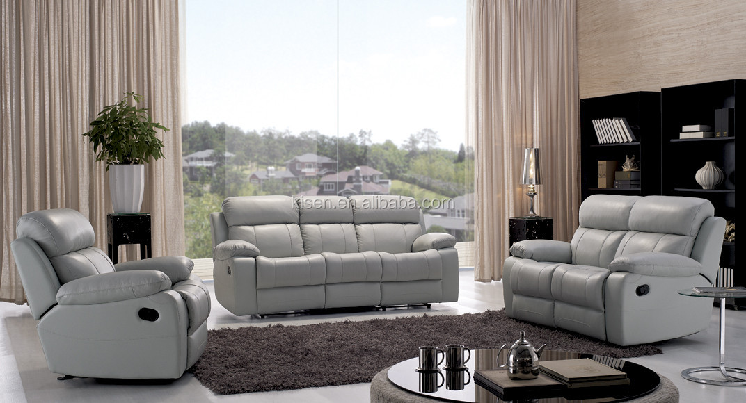 leather sleep sofa beds for living room furniture KQ903