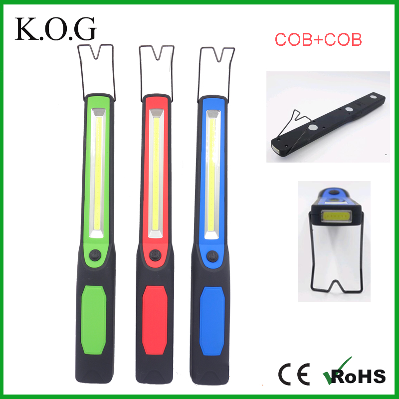 Hot Portable COB Magnetic Work Light with magnet