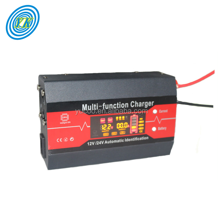 New Products ac dc 12v 24v 15a car battery charger