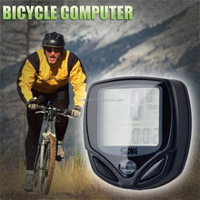 Wireless LCD Bike Speedometer Bicycle Computer