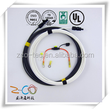 wire harness for car lighting system with ISO9001-2008 certification