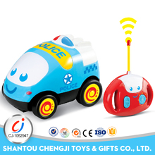 New cartoon toy lovely mini truck plastic best rc car for kids