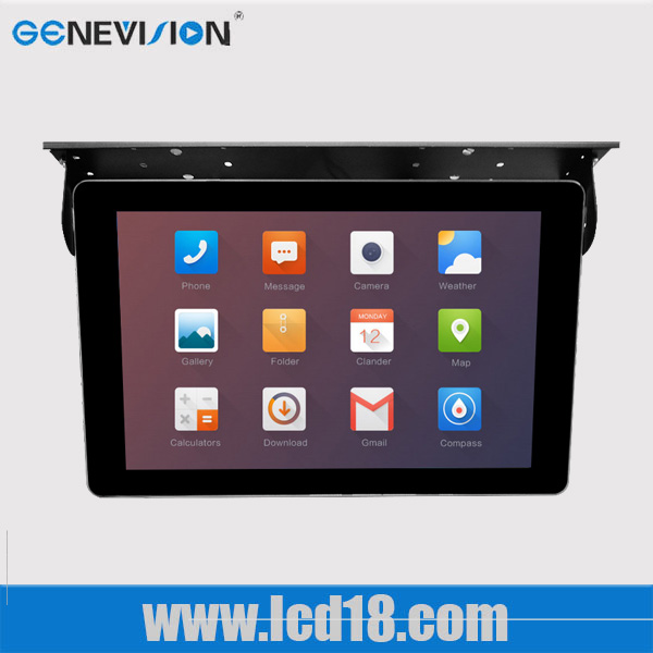 public transport 22 inch digital android system advertising display media tv loop video MP4 player