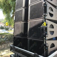 Professional LA line array speaker Kara line array speaker double 8 inch line speaker