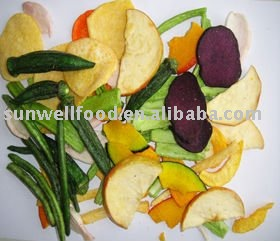 Vf Crispy Fried Vegetable Snacks Chips Dehydrated Vegetables Snack Mix Bulk Product On Alibaba