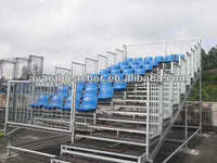 Environmental Friendly Aneasy Hot-Galvanied Metal Grandstand Seating System with Demountable Design