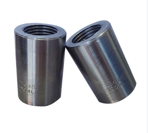 18mm 45# Carbon Steel Construction Metal Building Material Steel Rebar Coupler Rebar Splicing Coupler45