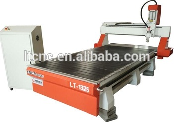 CNC Router cutting plastic board machine 1325 carving wood door wave with MACH3 controller