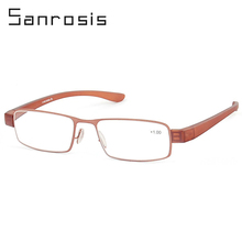 Retro Comfortable To Wear Safety Mini Folding Reading Glasses