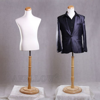 AFELLOW Male Mannequin Maniqui High Quality Upper Body Adjustable Fabric Dress  Forms Sewing Mannequin