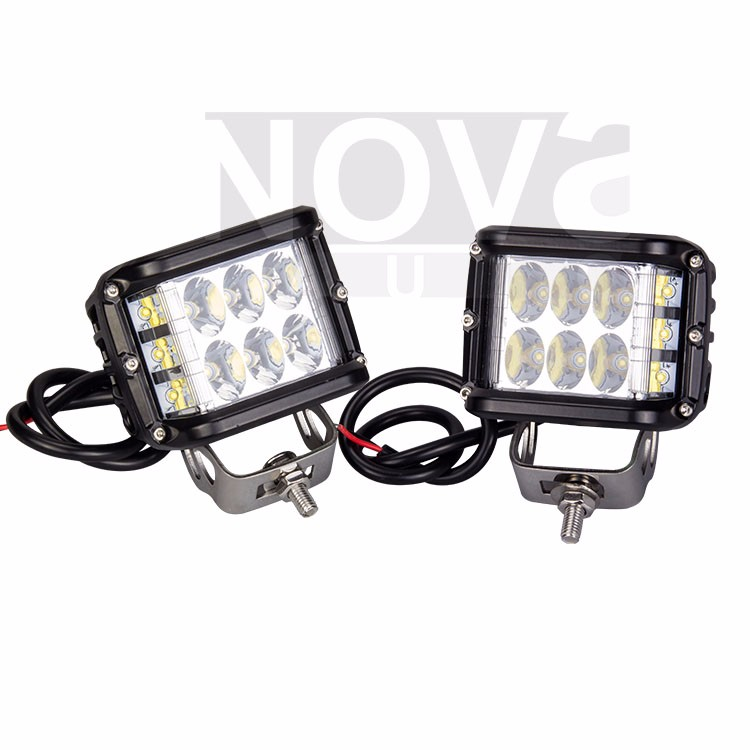 45W D-SS Shooter Side Cube Led Driving Work Light For Jeep