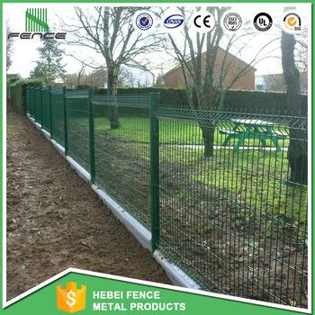 China Manufacture Fence Trellis Welded Wire Mesh Panel Fencing Netting Garden
