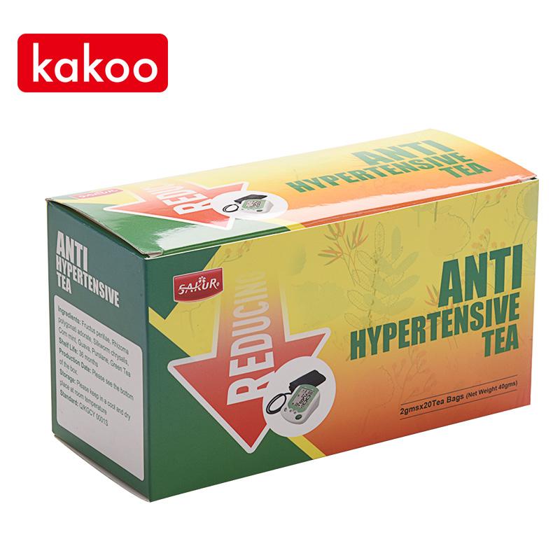 Kakoo anti hypertensive reducing tea natural hibiscus tea drink to help lower high blood pressure priority green tea - 4uTea | 4uTea.com