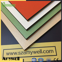 Amywell free sample durable anti-uv hpl laminate panel for exterior wall decoration
