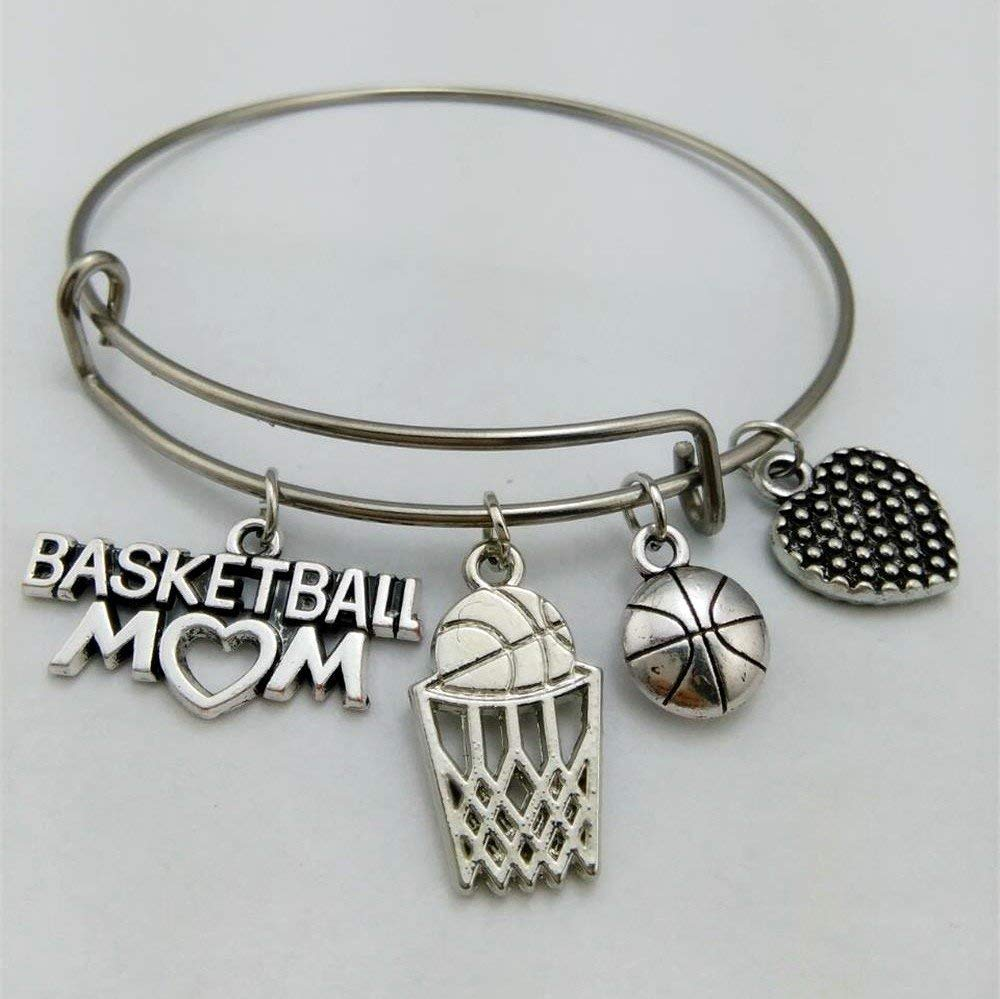 361383a03b4a Basketball Earrings for Women Basketball Mom Jewelry Fast Shipping 925  Sterling Silver Hooks Basketball Team Gifts ...
