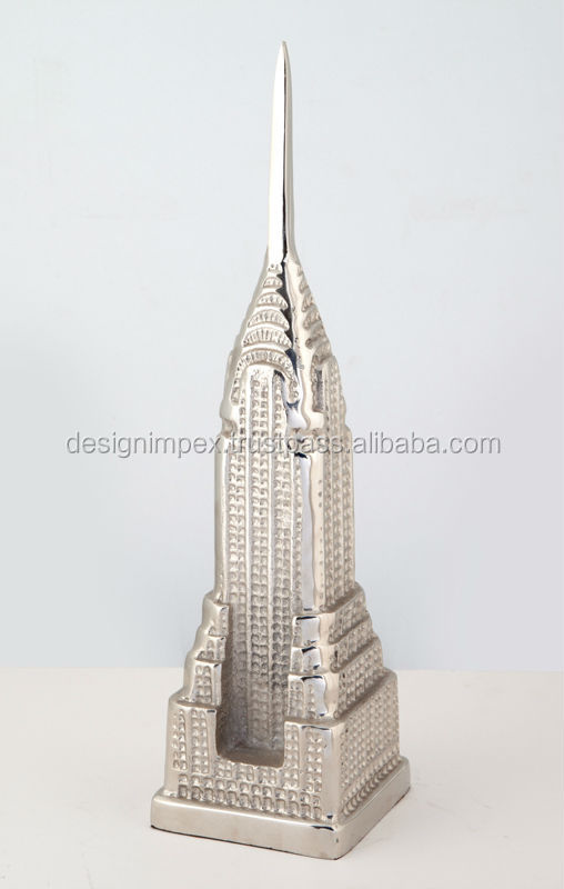 Cast Aluminum Decorative Empire State Tower/ Home Decor/ Table top for Home/ Office / promotional & Corporate Gifts/Showpiece