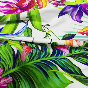 wholesale 80 nylon 20 spandex swimwear nylon lycra elastic fabric