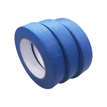Rubber adhesive blue rice paper painters masking tape