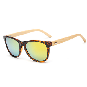 150307 Superhot 2018 Men Women Sunglass Fashion Wooden Sun glasses Custom Logo Bamboo Sunglasses