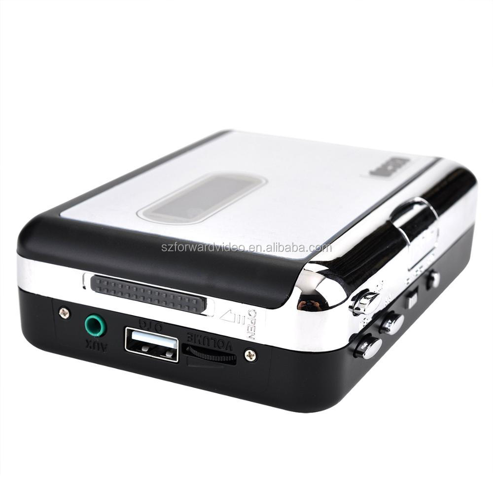 work alone walkman Cassette converter to USB flash disk tape to mp3 player ezcap231