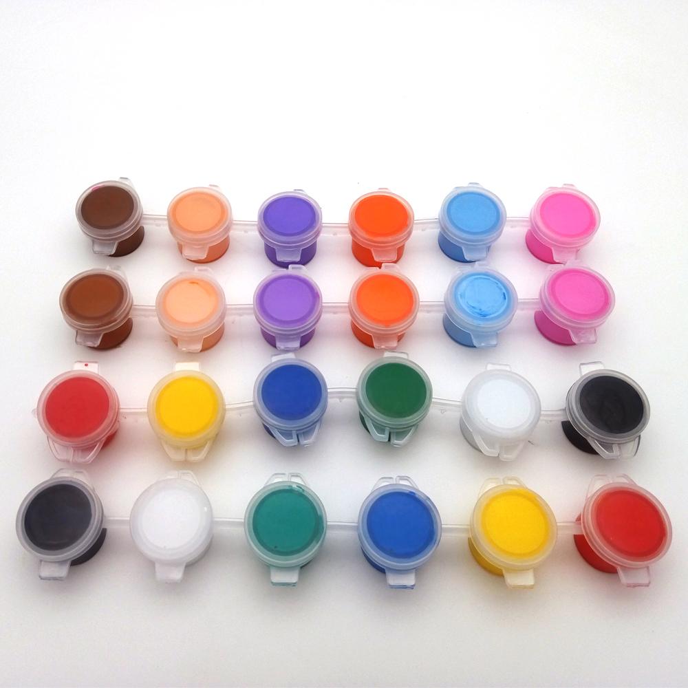peinture acrylique non toxique pour les enfants bricolage en