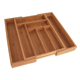 Totally Bamboo Large Adjustable Cutlery Tray & Drawer Organizer