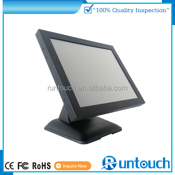 Runtouch New Metal high brightness and Resolution Touch Open Frame monitor For outdoor Advertising ATM Karaok POS use monitor