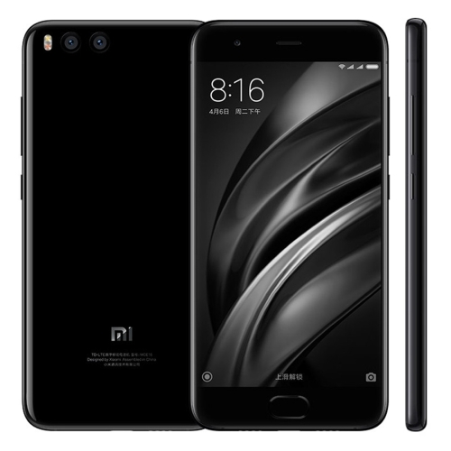 Most popular Xiaomi Mi6, 6GB+64GB 5.15 inch Curved Edge MIUI 8.0 Qualcomm Snapdragon dual sim mobile phone