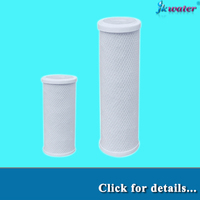 Factory price CTO /activated carbon water filter cartridge/coconut carbon filter