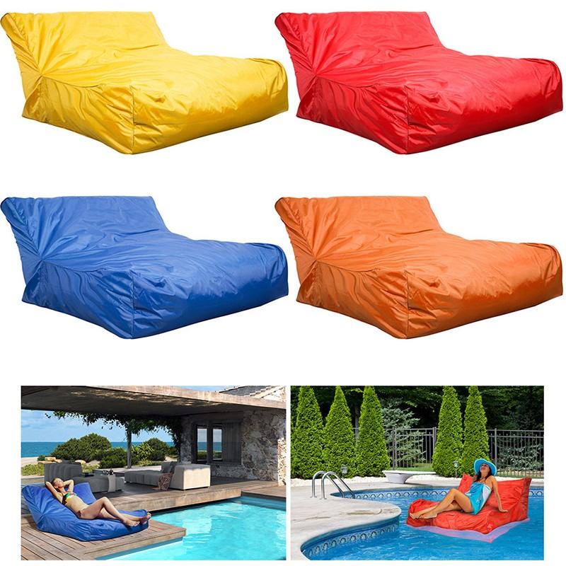 Incredible Unfilling Indoor Outdoor Water Resistant Floating Pool Sofa Bean Bag Couch Buy Pool Sofa Bean Bag Bean Bag Chair Float Bean Bag Product On Unemploymentrelief Wooden Chair Designs For Living Room Unemploymentrelieforg