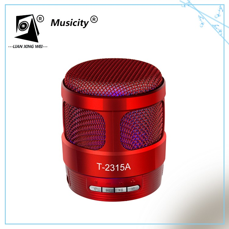 2017 Hot Quality Hands free call HD sound think box wireless portabl music mini bluetooth speaker instructions