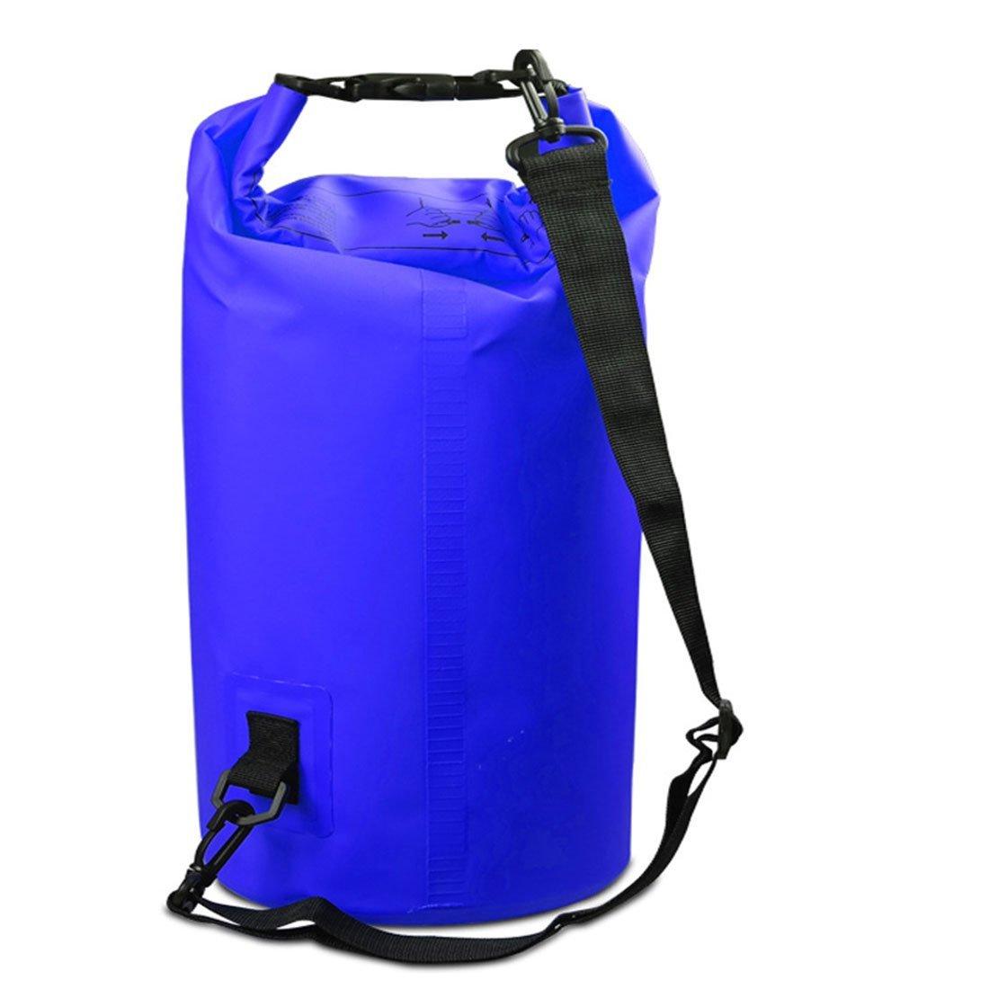 YORKING Outdoor Rafting Waterproof Bucket Bag Beach Waterproof Bucket Bag PVC Clip Net Waterproof Bag Waterproof Bucket Bag